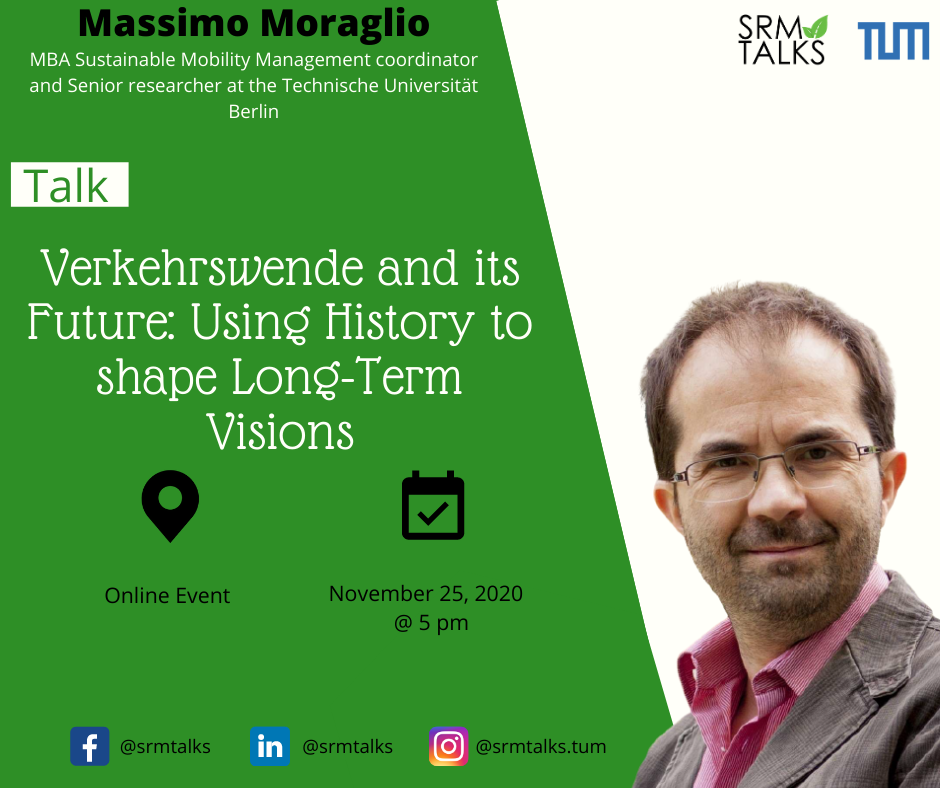 Massimo SRM Talks | 25th | Sustainable Mobility