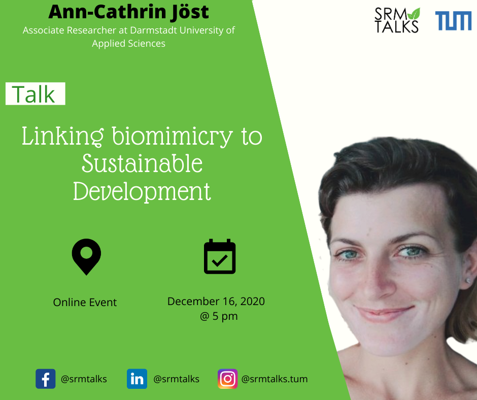 Biomimicry and Sustainability, Ann-Cathrin Jöst